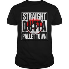 Get yours cool Straight Outta Pallet Town HOT SHIRT Shirts & Hoodies.  #gift, #idea, #photo, #image, #hoodie, #shirt, #christmas