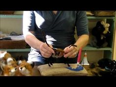 ▶ How To Needle Felt Animals - Fox Series 2: Wrapping by Sarafina Fiber Art - YouTube