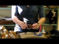 ▶ How To Needle Felt Animals - Fox Series 2: Wrapping by Sarafina Fiber Art - YouTube
