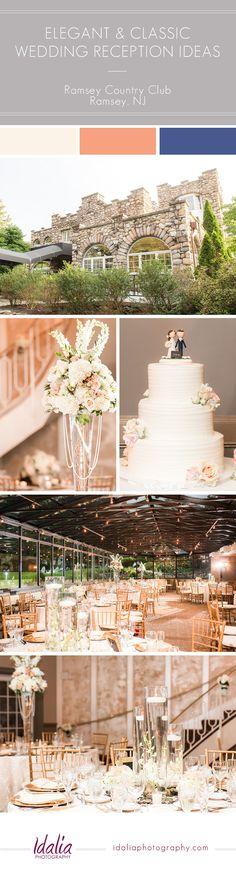 Ramsey Golf and Country Club Wedding Reception Ideas | Northern NJ Wedding Venue | Photos by Idalia Photography