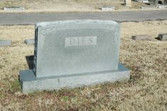 """One of Those """"Hey, What a Minute"""" Tombstones — This One in Calvary Cemetery in #Memphis"""