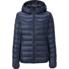 WOMEN ULTRA LIGHT DOWN HOODED JACKET