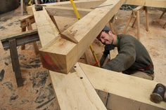 #timberframe #oakframe at Castle Ring
