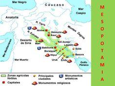 MESOPOTAMIA  Estudio de la civilización mesopotámica
