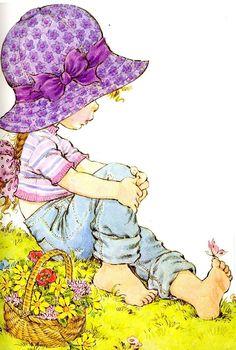 Rea May hat hier gepinnt: Geschenke & Karten sarah kay Sarah Key, Holly Hobbie, Sarah Kay Imagenes, Decoupage, Cute Images, Cute Illustration, Illustrations, Vintage Cards, Cute Drawings