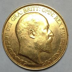 1902 Gold 5 Pounds Great Britain 1 285 oz Very RARE Coin Beautiful No Reserve | eBay
