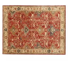 Channing Persian style rug 10x14. Pottery Barn