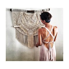 Large macrame wallhanging @_family_ties