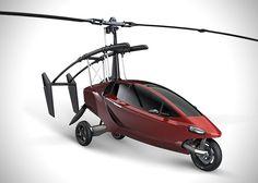 Helicycle: o carro helicóptero que irá te salvar do trânsito