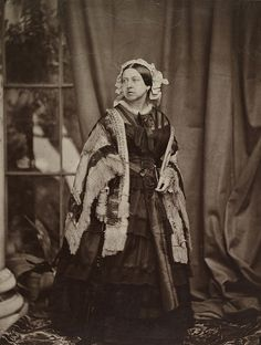 Queen Victoria (1819-1901) c.1861 by J.J.E. Mayall