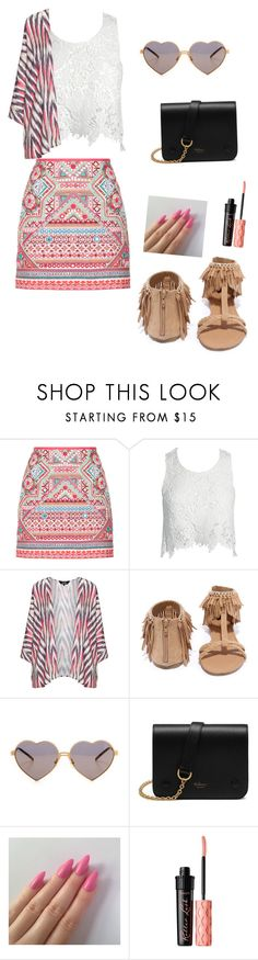 """Summer"" by princessm2004 on Polyvore featuring Accessorize, Sans Souci, navabi, Qupid, Wildfox, Mulberry and Benefit"