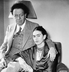 Famous Mexican Husband & Wife painters: Diego Rivera & Frida Kahlo