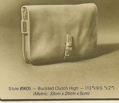 84382bf3ef1ee Coach Buckled Clutch High Style #9605. Bonnie Buruschkin · Vintage Bag Love