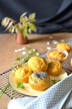 Muffins à la Patate Douce et au Cumin {@ Les Recettes de Juliette} excellente recette de délicieux petits #muffins salés, j'en suis dingue !