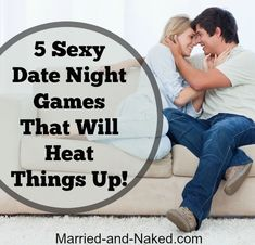 Bring back the spice in your next date night with these 5 Sexy Date Night Games That Will Heat Things Up.  Get ready for a date night you won't soon forget!