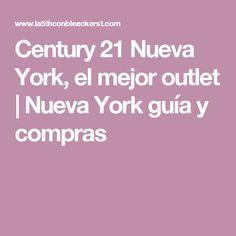 Century 21 Nueva York, el mejor outlet | Nueva York guía y compras