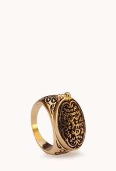 Secret Cross Ring | FOREVER21 - 1040495414