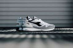 Diadora& Receives a Summer-Perfect Woven Makeover Air Max Sneakers, Shoes Sneakers, Baskets, Handsome Black Men, Adidas, Nike Air Max, Sportswear, Kicks, Weaving