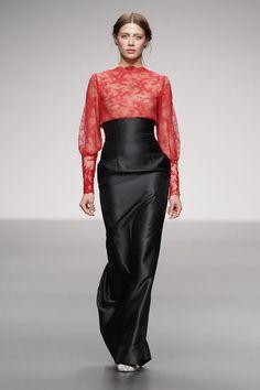 Aires asiáticos en los vestidos de fiesta de Paula del Vas, colección 2013  #weddingguest #vestidodefiesta #vestidosinvitadas #tendenciasdebodas