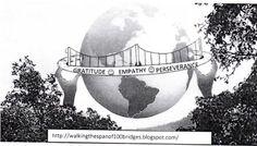 ..... as I walk the span of a HUNDRED bridges ....: The Idea was born!