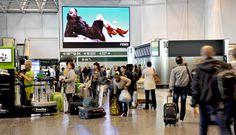 Aeroporti - Led Wall - Fendi - Milano Malpensa #IGPDecaux #Fendi #Milano #Malpensa #LedWall