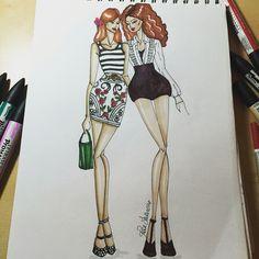 #drawing #illustrator #fashiondesign