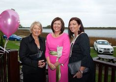 Family Sadie ,Emma & Jackie Murray looking fab Sadie, Fashion Show, Lunch, Pink, How To Wear, Eat Lunch, Pink Hair, Lunches, Roses