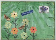 Mail art by Pikkis of ATC's For AllClick to view original