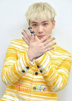 Lee Hong Ki FT ISLAND // Nail Queen Come visit kpopcity.net for the largest discount fashion store in the world!!