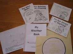 Living and Learning: Storm in the Night Lapbook & Resources (good YouTube video go-alongs about weather and storms)