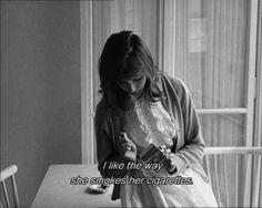 'Une Femme Est Une Femme.', Jean-Luc Godard, 1961