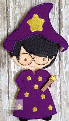 The Wizard Felt Boy Doll Wizard Outfit by NettiesNeedlesToo, $6.00