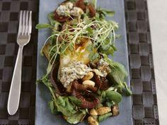 Herfstsalade met peer en roquefort - Libelle Lekker!
