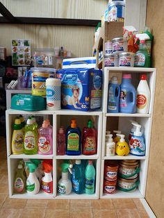 Re-ment...cleaning products