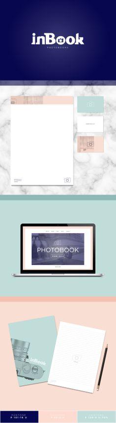 inBook - Brand Identity Design by. Juliana Vignette www.julianavignette.co.uk