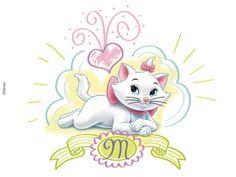 Картинки кошки Мари (Marie) из Котов Аристократов