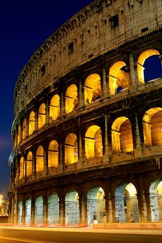 The Coliseum: Rome, Italy. Visited in1988 with DH while in Italy on business and with my wife in 2010 while on Mediterranean cruise.