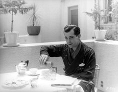 Ramon Novarro  - silent film icon.  I would have loved to have met him.