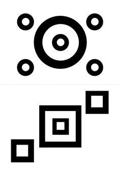 ЧЁРНО-БЕЛЫЙ МИР - картинки для самых маленьких - РАСПЕЧАТАЙ и ИГРАЙ :: Игры, в которые играют дети и Я Black And White Books, Black And White Baby, Baby Flash Cards, Stencil, Baby Artwork, High Contrast Images, Felt Crafts Diy, Geometric Drawing, Baby Images