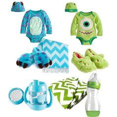 """Baby monsters inc. sleepwear"" by jenna-bo-benna on Polyvore"