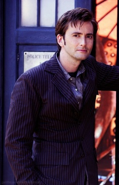 """Picturing him saying """"Would you like to travel in the Tardis for a bit...with me?"""" YES!!!!"""