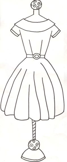 use as dress idea for doll brooches