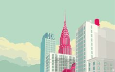 remko heemskerk→New York illustrations