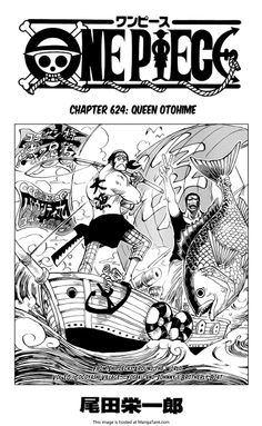 One Piece Manga ch.624 Page 1