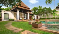 Spa Pool Villa at 5 star hotel: Banyan Tree Phuket. This hotel's address is: 33 Moo 4 Srisoonthorn Road Cherngtalay Bang Thao Phuket 83110 and have 135 rooms Phuket Resorts, Hotels And Resorts, Resort Villa, Resort Spa, Trip Advisor, The Good Place, Patio, Backyard, Outdoor Structures