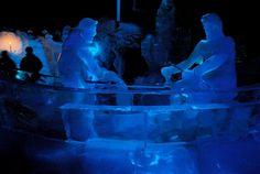 Ice Sculpture exhibition