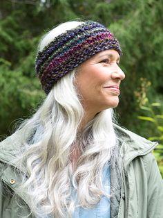 Quinoa is a free headband knitting pattern in Berroco Brio. Download now at berroco.com.
