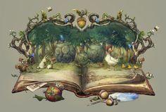 fairy tale, greeimm Bae on ArtStation at https://www.artstation.com/artwork/fairy-tale-100e3da8-9bc6-4e7a-9a6e-62bf8d0da5d2