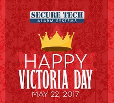 In honor of Queen Victoria's birthday, Happy Victoria Day. Queen Victoria Birthday, Best Home Security System, Alarm System, Celebration, Happy, Ser Feliz, Being Happy