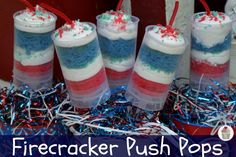 Cool off on the 4th with Firecracker Push Pops from #Walmart Mom Liz.